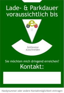 Ladescheibe von e-auto.tv