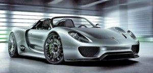 Porsche 918 Spyder Hybrid. Bildquelle: Porsche