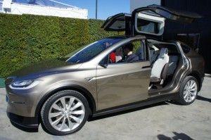 Tesla Model X von Tesla Motors. Bildquelle: Tesla Motors /Übergizsmo