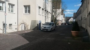 EnBW-Ladesäule, Pfarrgasse, Böblingen